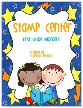 1st Grade Wonders Stamp Center