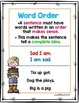1st Grade Wonders Unit 1 Week 2 Grammar Charts and Assessments