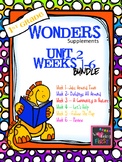 1st Grade Wonders (2014) - Unit 2 Bundle