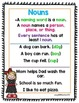 1st Grade Wonders Unit 2 Week 1 Grammar Charts and Assessments