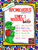 1st Grade Wonders (2014) - Unit 3 Bundle