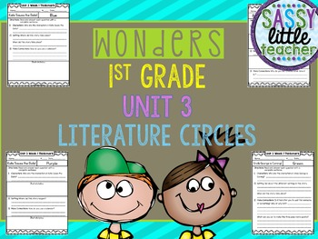 1st Grade Wonders Unit 3 Literature Circles