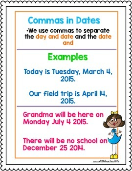 1st Grade Wonders Unit 3 Week 4 Grammar Charts and Assessments