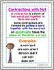 1st Grade Wonders Unit 3 Week 5 Grammar Charts and Assessments