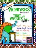 1st Grade Wonders (2014) - Unit 4 Bundle