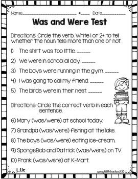 1st Grade Wonders Unit 4 Week 1 Grammar Charts and Assessments