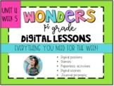 1st Grade Wonders Unit 4 Week 5 Digital Resources *Distance Learning*