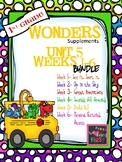 1st Grade Wonders (2014) - Unit 5 Bundle