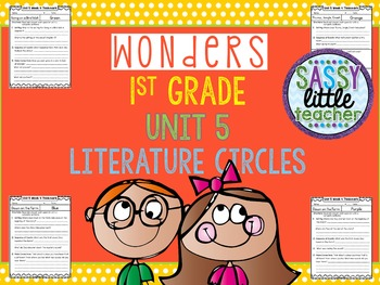 1st Grade Wonders Unit 5 Literature Circles