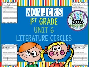 1st Grade Wonders Unit 6 Literature Circles