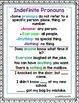 1st Grade Wonders Unit 6 Week 3 Grammar Charts and Assessments