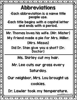 1st Grade Wonders Unit 6 Week 5 Grammar Charts and Assessments