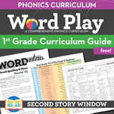 1st Grade Word Play Phonics and Spelling Curriculum Guide