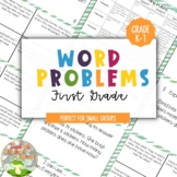 1st Grade Word Problems--Progress Monitoring