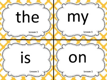1st Grade Word Wall Bundle- Primary Colors