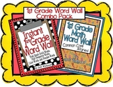1st Grade Word Wall Combo Pack