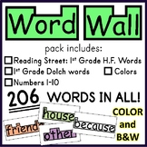 Word Wall Words (1st Grade)