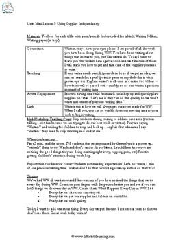 1st Grade Writer's Workshop