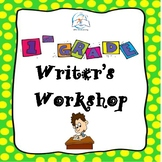 1st Grade Writer's Workshop
