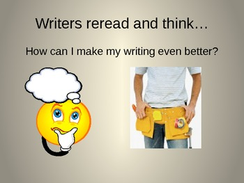 1st Grade Writers Workshop Lesson - 1.8 Writers revise by asking