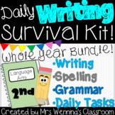 2nd Grade Writing Survival Kit! Whole Year Bundle of Resources!