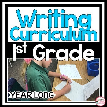 1st Grade Writing Bundle Year Long