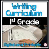 1st Grade Writing Bundle: Narrative, Informational, Opinion