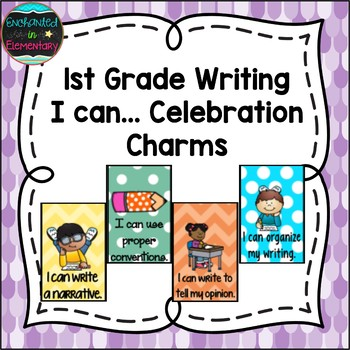 1st Grade Writing I can...Brag Tags