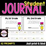 1st Grade Writing Journal with 112 Prompts