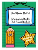 1st Grade Writing Information Books Charts & Teaching Points