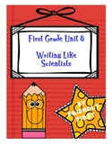 1st Grade Writing Unit 8 Charts & Teaching Points