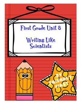 1st Grade Writing Unit 8 Charts & Teaching Points