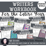 Wonders 1st Grade Writing Workbook For the Entire Year (GROWING BUNDLE)