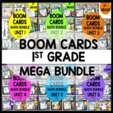 1st Grade Year Long Boom Cards Math MEGA Bundle Distance Learning