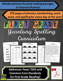 1st Grade Yearlong Phonics / Spelling / Word Work / Fluenc