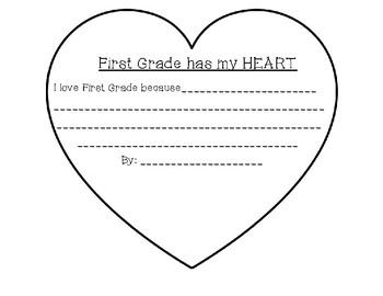 1st Grade has my Heart