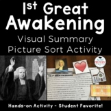 1st Great Awakening Visual Summary Activity (baggies)