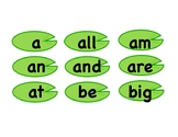1st Green Level Sight Words