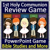 Catholic Distance Learning - 1st Holy Communion Game - Google link or Zoom!