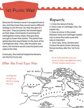 1st Punic War: Romans vs. Carthaginians