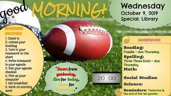 1st Quarter Daily Morning Slides