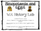1st Quarter History Lab Mesopotamia SS.6.W.2.2 6th Grade