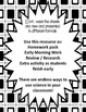 5th Grade Earth Science Grids - 1st Quarter Homework Pack Standards Based
