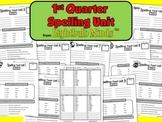 1st Quarter Spelling Unit from Lightbulb Minds