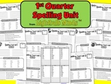 1st Quarter Spelling Unit from Lightbulb Minds