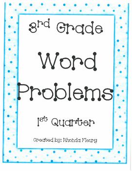 1st Quarter Word Problems