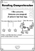1st Reading Comprehensions for Early Years and KS1