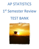 1st Semester AP Statistics Review (Examview)