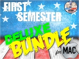 First Semester U.S. History Deluxe Bundle - Keynote Version (MAC USERS ONLY)