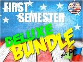 First Semester U.S. History Deluxe Bundle - PowerPoint Version (PC USERS ONLY)
